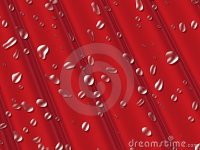 Water droplets