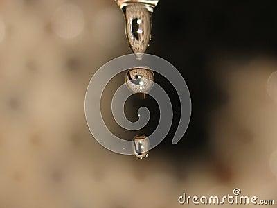 Water Drops Falling 2