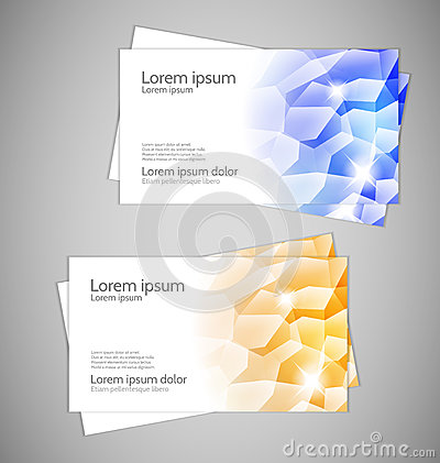 Water Drops - Modern Business cards