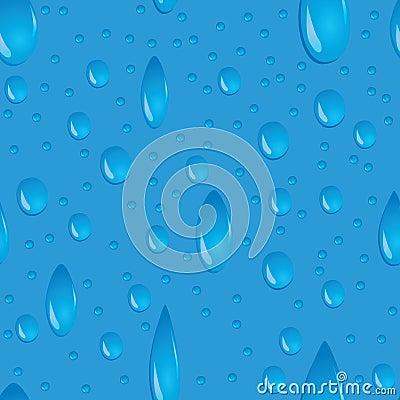 Water drops seamless