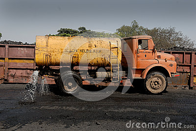 Water for Dust Editorial Stock Image