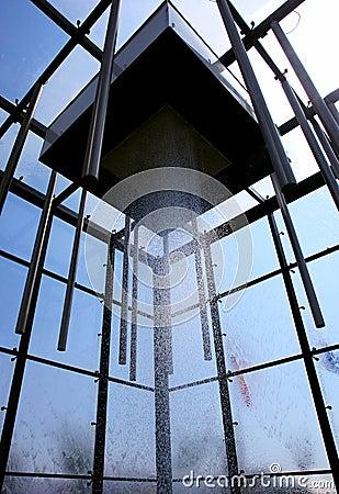Water exhibit pavilion