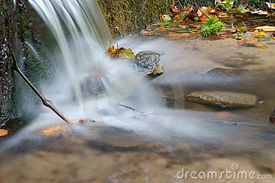 Water fall of a creek