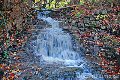 Water Fall Eighth line, Halton Hills, Ontario
