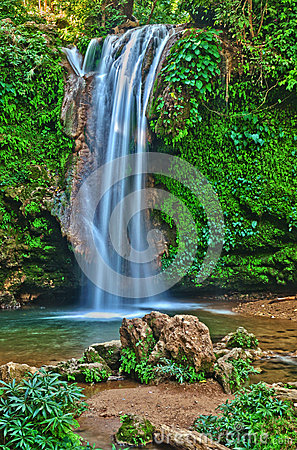 Free Water Fall: White Water In Flow Royalty Free Stock Photos - 30118698