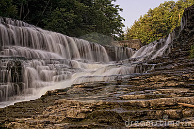 Water Falls in Ithica NY