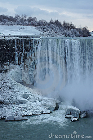 Water Falls in Winter