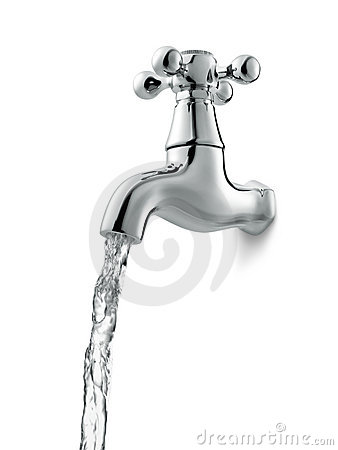 Free Water Faucet Royalty Free Stock Image - 15247816