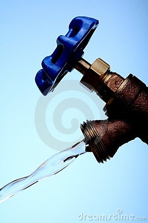 Water Faucet & Running Water