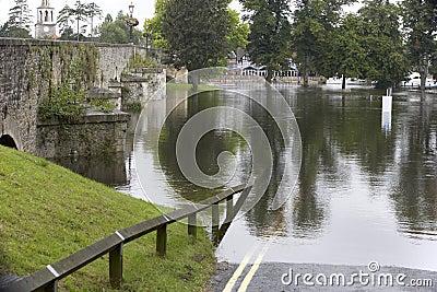 Water Flooding Roads