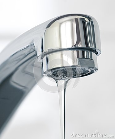 Free Water Flowing From Water Faucet Stock Photography - 30362832