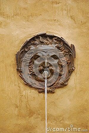 Water Fountain in Pitigliano, Tuscany