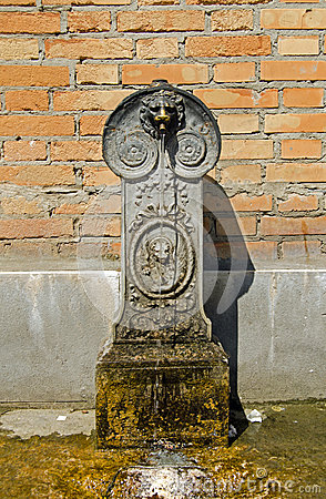Water fountain, Venice