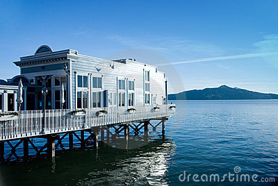 Water Front View House Restaurant