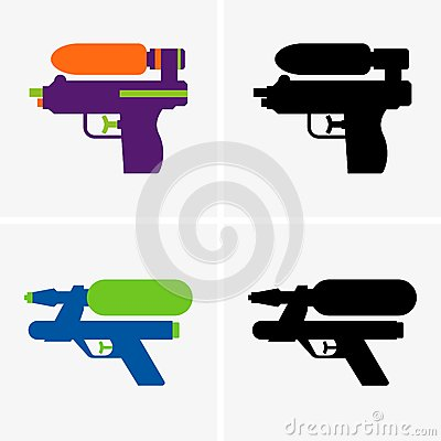 Free Water Gun Royalty Free Stock Photos - 71806518