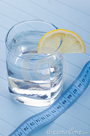 Water For Healthy Life With Lemon Royalty Free Stock Photo - Image: 26641415