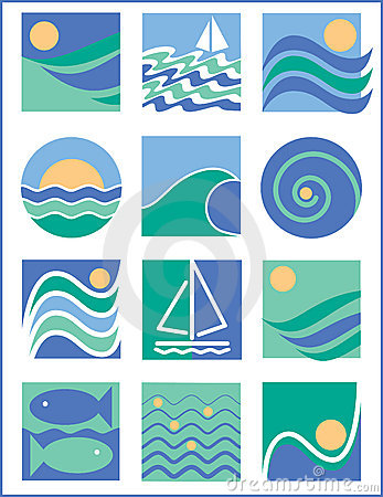 Water Icons 1