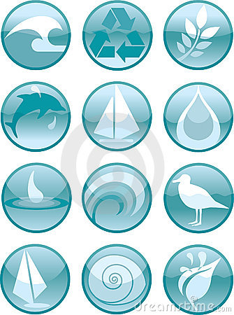 Water Icons_Round