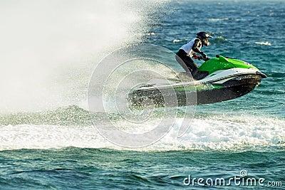 Water jetski