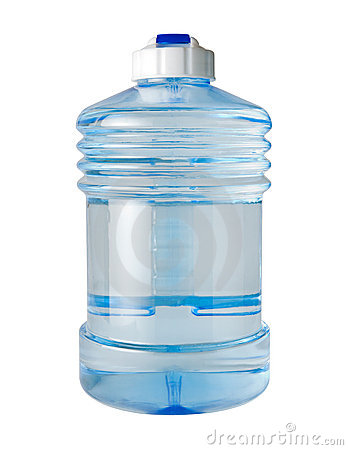Water Jug (with clipping path)