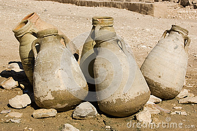 Water Jugs in the Desert