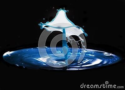 Water lamp