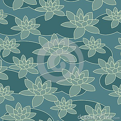 Water-lily pattern