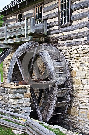 Water Mill Shoal Creek Living History Museum Editorial Stock Image