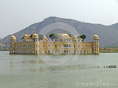 The Water Palace of Jaipur, India