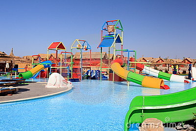 Water Park And Swimming Pool Stock Photos Image 20342343