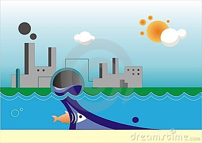 Water Pollution Stock Image - Image: 8342651