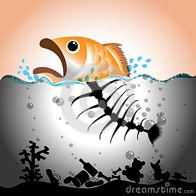 Free Water Pollution Concept Stock Photo - 33390290