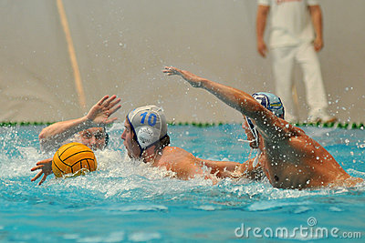 Water-polo action Editorial Image