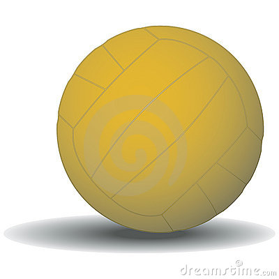 Water Polo Ball with clipping path