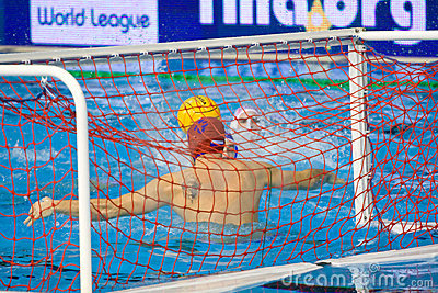 Water polo match Editorial Photography
