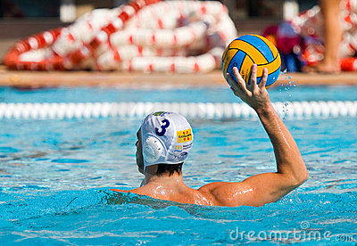 Water polo player Editorial Photography