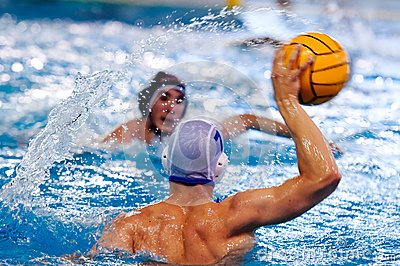 Water polo players Editorial Photo