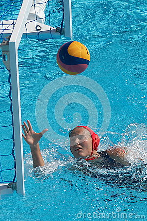 Water polo women. Hungary vs russia Editorial Image