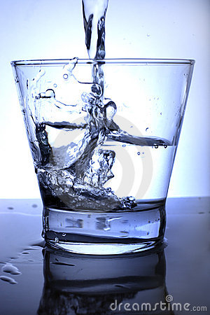 Free Water Poured Into Glass. Free Royalty Free Stock Photos - 3393868