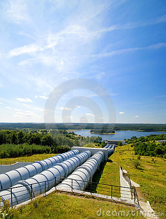 Free Water Power Plant. Stock Photography - 2809902