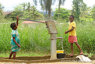 Water pump Editorial Photo
