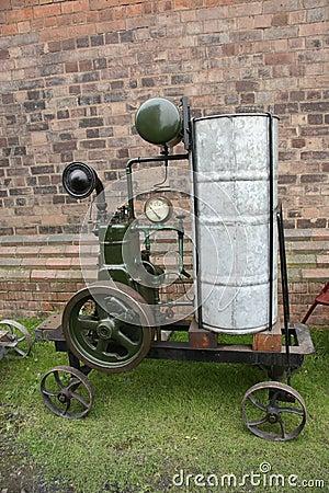 Water pump pistons