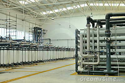 Water purification factory