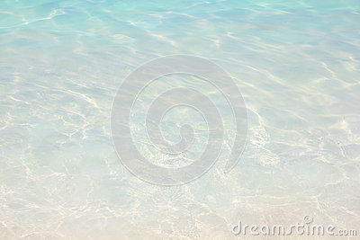 Water ripple background, Tropical clear beach. Vacation