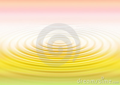 Water ripples - gradation