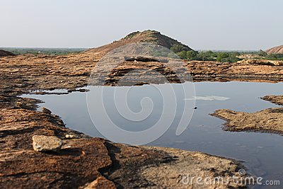 Water On Rock Stock Images - Image: 26216894