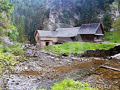Water sawmill - Kvacianska Valley, Slovakia