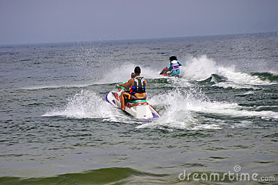 Water Scooters or jet skis