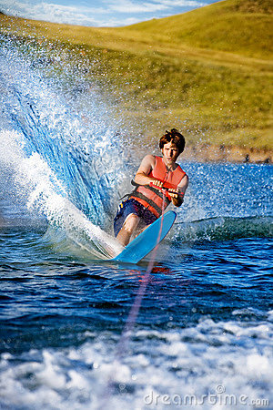 Free Water Ski Male Stock Images - 6141894