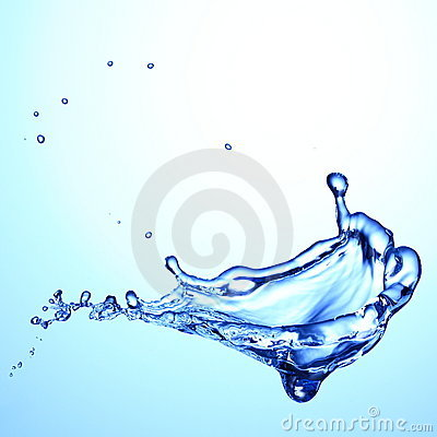 Free Water Splash Royalty Free Stock Photo - 22097365